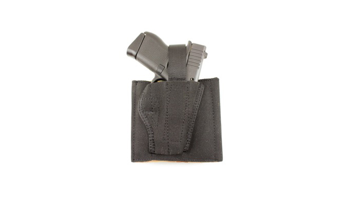 """DeSantis Holsters Fits Springfield Armory XDM .45 3.8"""" Pistol Apache Ankle Rig"""