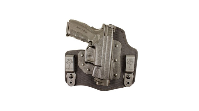 "DeSantis Holsters Fits Springfield Armory XDM .45 3.8"" Pistol Invader"