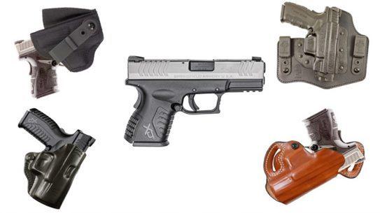 "DeSantis 13 Holsters Springfield Armory XDM .45 3.8"" Pistol"