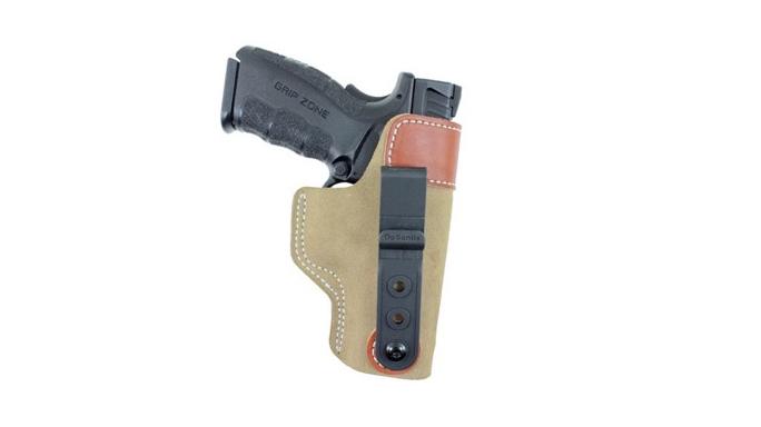 "DeSantis Holsters Fits Springfield Armory XDM .45 3.8"" Pistol Sof-Tuck"