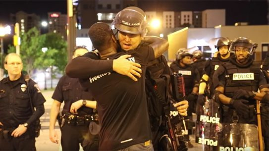 Free Hugs Project Charlotte Riots