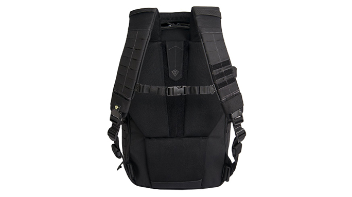 First Tactical Tactix 1-Day Plus Backpack straps