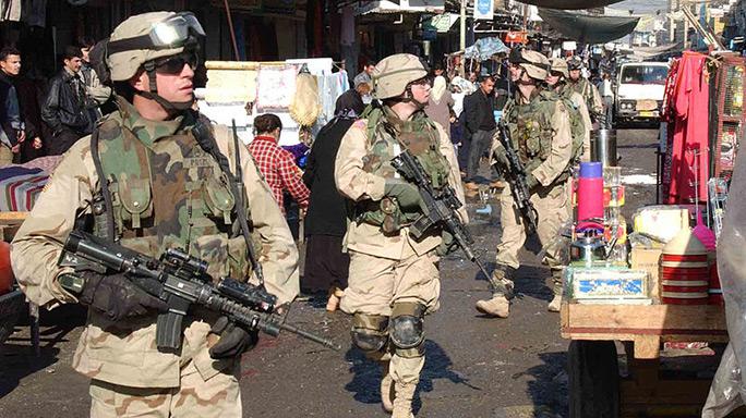 iraq, mosul, us troops mosul