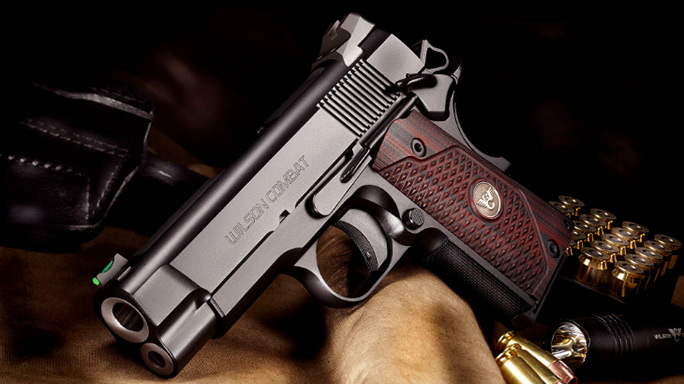 Wilson Combat Sentinel XL Pistol 2016 left
