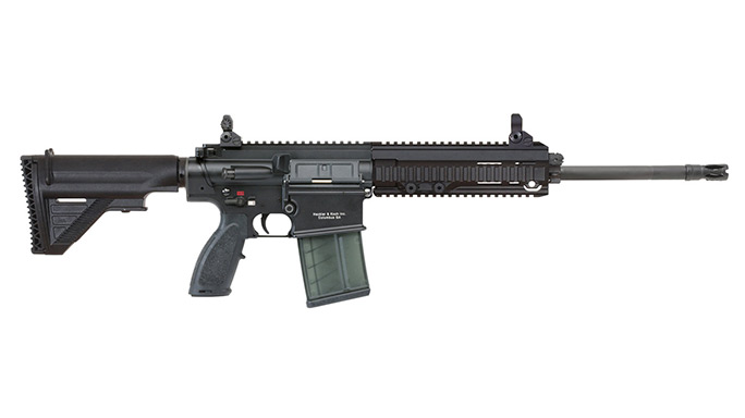 rifle, rifles, semi-auto rifle, semi-auto rifles, HECKLER & KOCH MR762A1