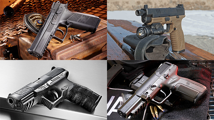 12 Pistols in the Running For Army's XM17 Modular Handgun System