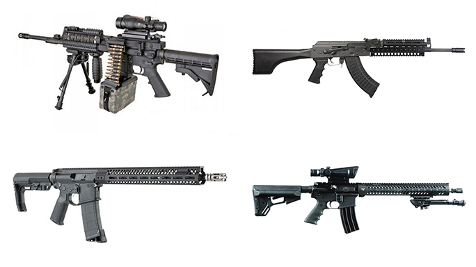 Rifles NASGW 2016 Product Showcase