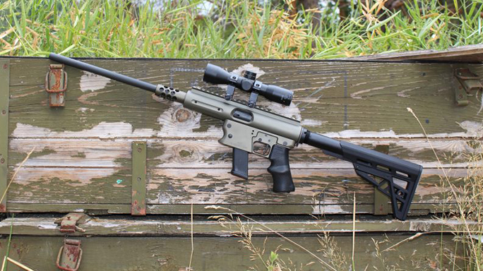 NASGW 2016 TNW Firearms Aero Survival Rifle 10mm
