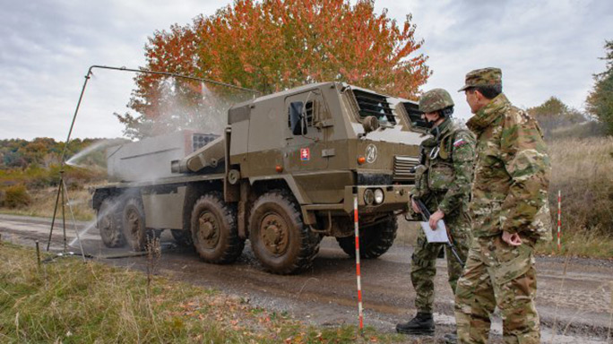 Slovak Shield: American, NATO Allies Unite For Training Exercise
