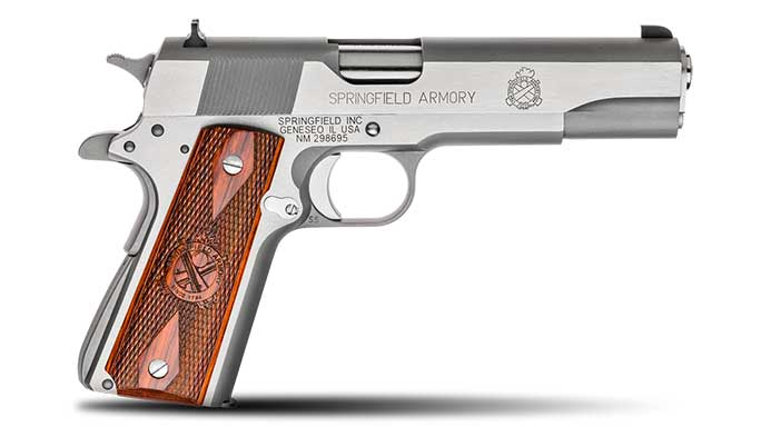 semi-auto pistol, semi-auto pistols, semi auto pistol, semi auto pistols, pistol, pistols, autoloading pistol, autoloder pistol, SPRINGFIELD MIL-SPEC
