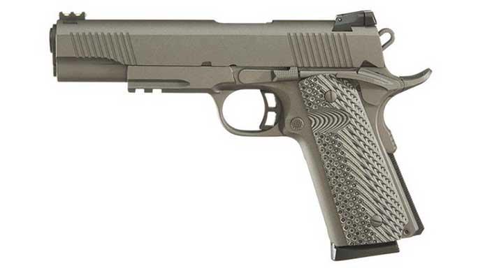 semi-auto pistol, semi-auto pistols, semi auto pistol, semi auto pistols, pistol, pistols, autoloading pistol, autoloder pistol, TAYLOR'S TACTICAL 1911-FS GUN METAL GREY
