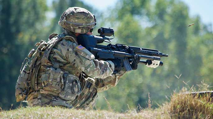 army tests AimLock Stabilized Weapon Platform
