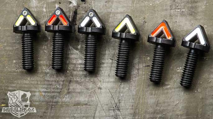 blitzkrieg components chevron front sight posts