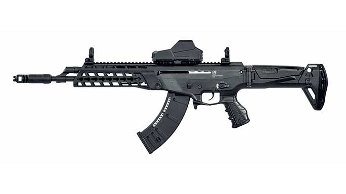 Kalashnikov Alfa rifle, new guns