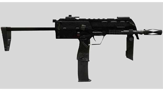call of duty guns MP7
