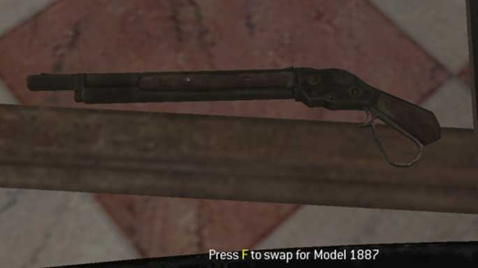 call of duty guns Model 1887