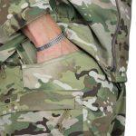 Huron Combat Cold Weather Uniform multicam pant pocket