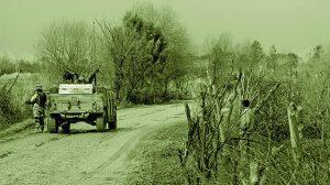 Josh Kinser survived a bomb blast in his Humvee