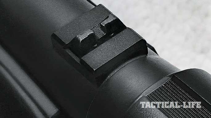 Benelli M2 Entry shotgun sights