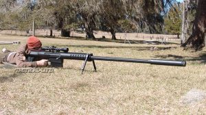 Anzio Iron Works Mag-Fed 20MM Rifle on the range