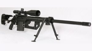 The CheyTac M200 Intervention comes with an advanced ballistic computer