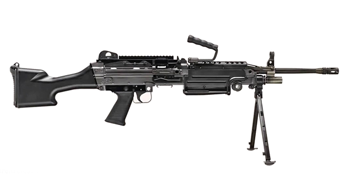 FN M249S Belt-Fed Rifle
