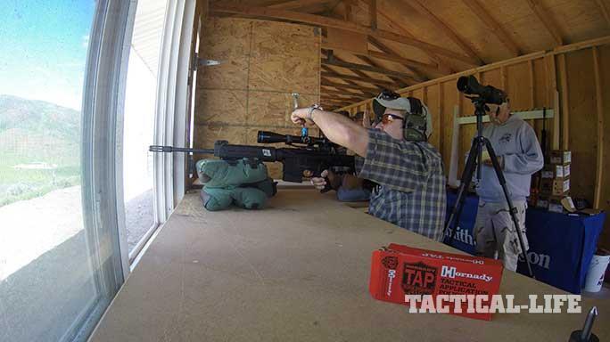long distance shooting sniper