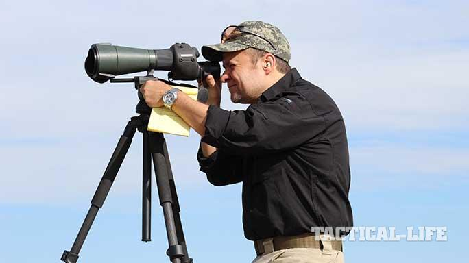 long distance shooting spotter