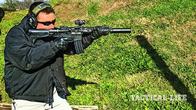 BCM RECCE gun test