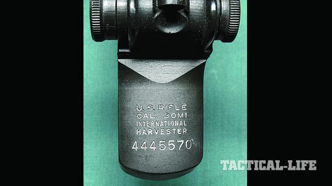 M1 garand postage stamp receiver