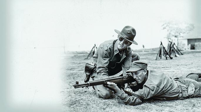 M1 garand rifle