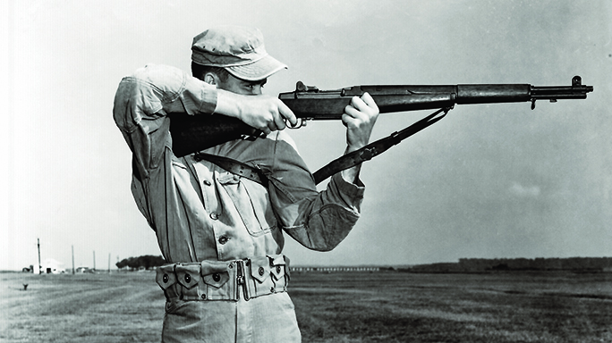 M1 garand rifles by international harvester