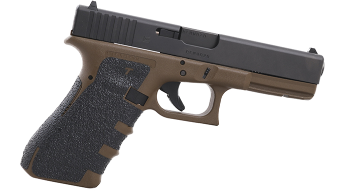 TALON Grips Moss with FDE G17
