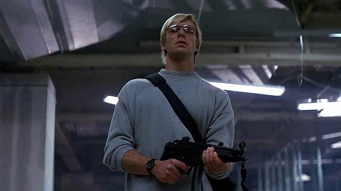 Tony Vreski looks for John McClane in Die Hard