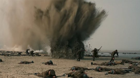 Dunkirk beach explosion