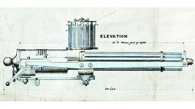 Gatling Gun machine gun