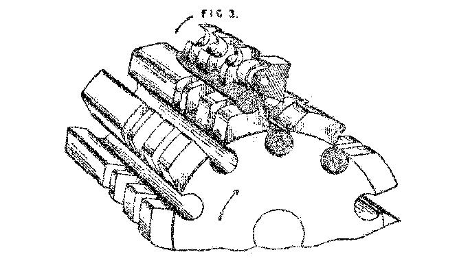 Gatling Gun drawing