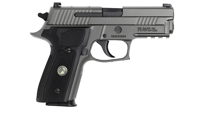 Sig Sauer Legion series handguns exclusive
