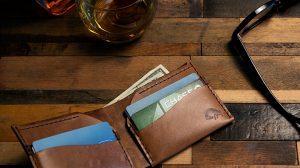 "Ezra Arthur wallets are ""Designed For Life"""