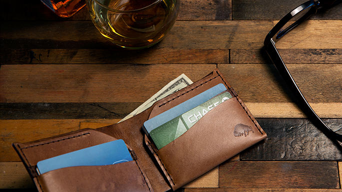 "Ezra Arthur wallets are ""Designed For Life"""