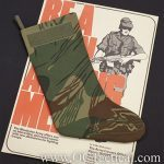 The OC Tactical Rhodesian Camouflage Christmas Stocking is perfect for Christmas