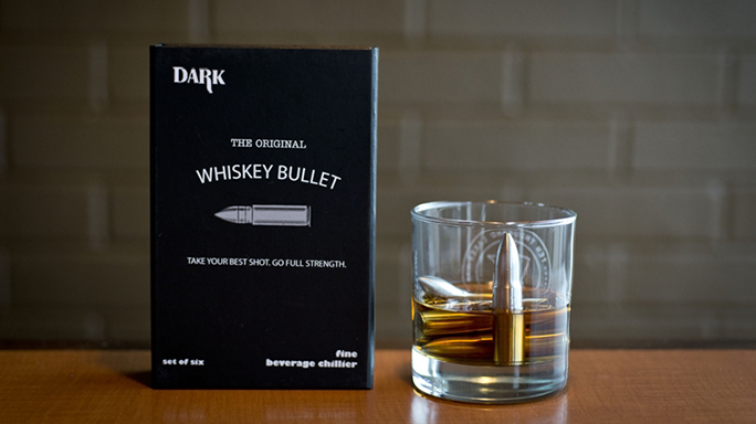 Whiskey Bullets are better than whiskey rocks