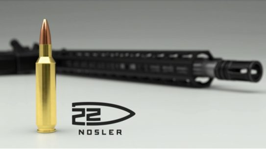 22 nosler cartridge