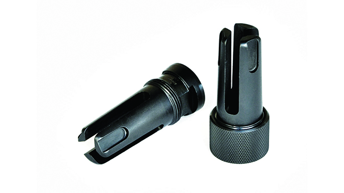 Griffin Armament Taper Mount Stealth Flash Suppressor muzzle devices