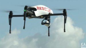 los angeles police drone