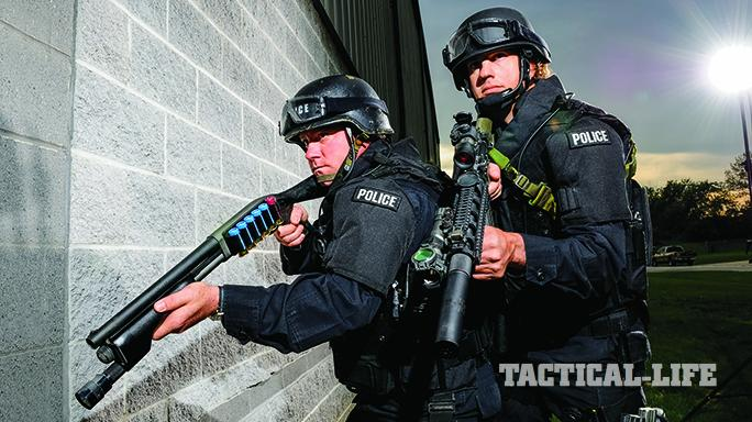 pump-action shotguns for law enforcement