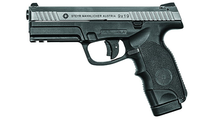 steyr striker-fired pistols