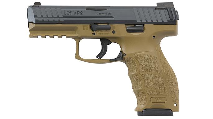 HK VP Tactical 9mm