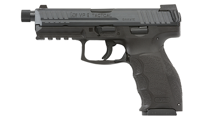 HK VP Tactical pistol