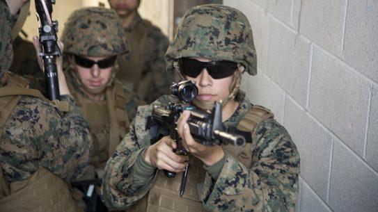 female infantry marines
